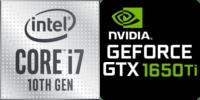 Intel® Core™ i7-10750H 6-Core Prozessor (12 Threads) 2.6GHz (5.0 GHz Turbo) 12MB Smart Cache  Nvidia GeForce RTX-3060 6144MB GDDR6, TGP 80W (105W max) (NH77DPQ)