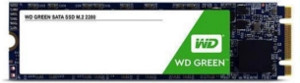 WD Green 120 GB @545/520MB/s (Read/Write)
